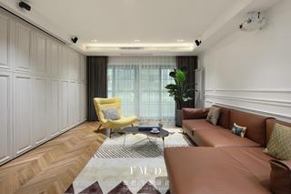 200平米三居室客厅装修效果图