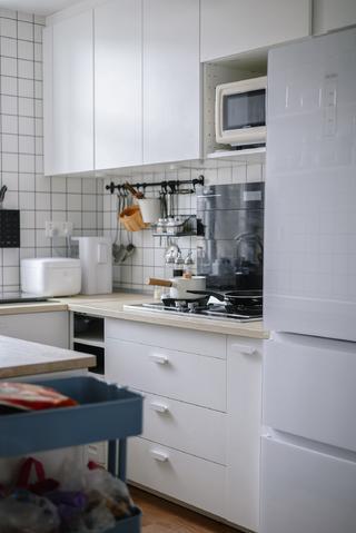 北歐風格二居廚房裝修效果圖