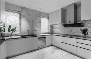 大户型现代简约厨房装修效果图