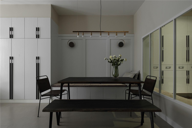 76平米简约一居餐厅装修效果图