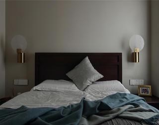 76平米简约一居卧室装修效果图
