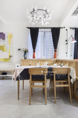 80平二居室餐厅装修效果图