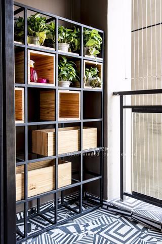 80平二居室阳台装修效果图