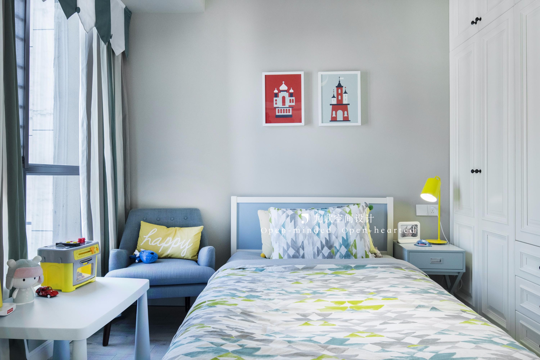 80平二居室儿童房装修效果图