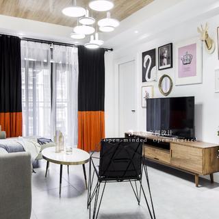 80平二居室装修效果图