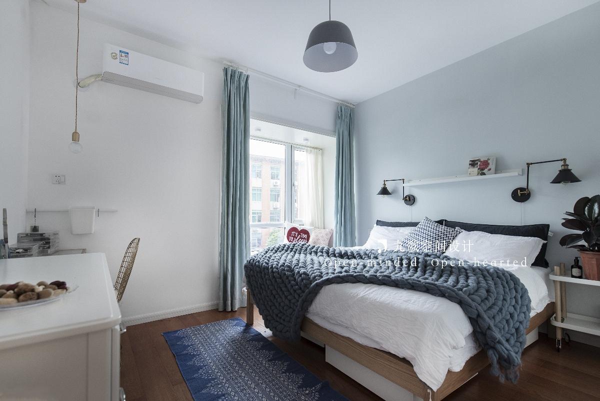 北欧风二居卧室装修效果图