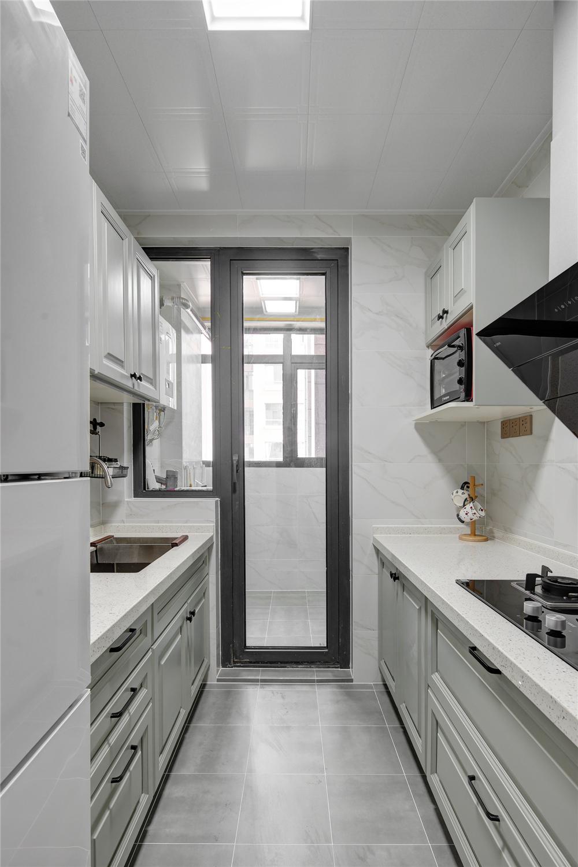 80㎡两居室厨房装修效果图