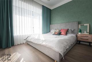 95㎡現代簡約臥室裝修效果圖