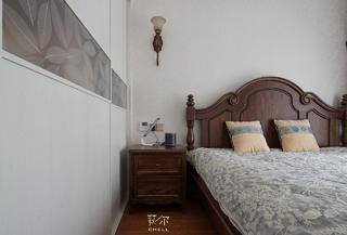 美式风三居卧室装修效果图