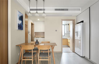 140m²日式风格餐厅装修效果图