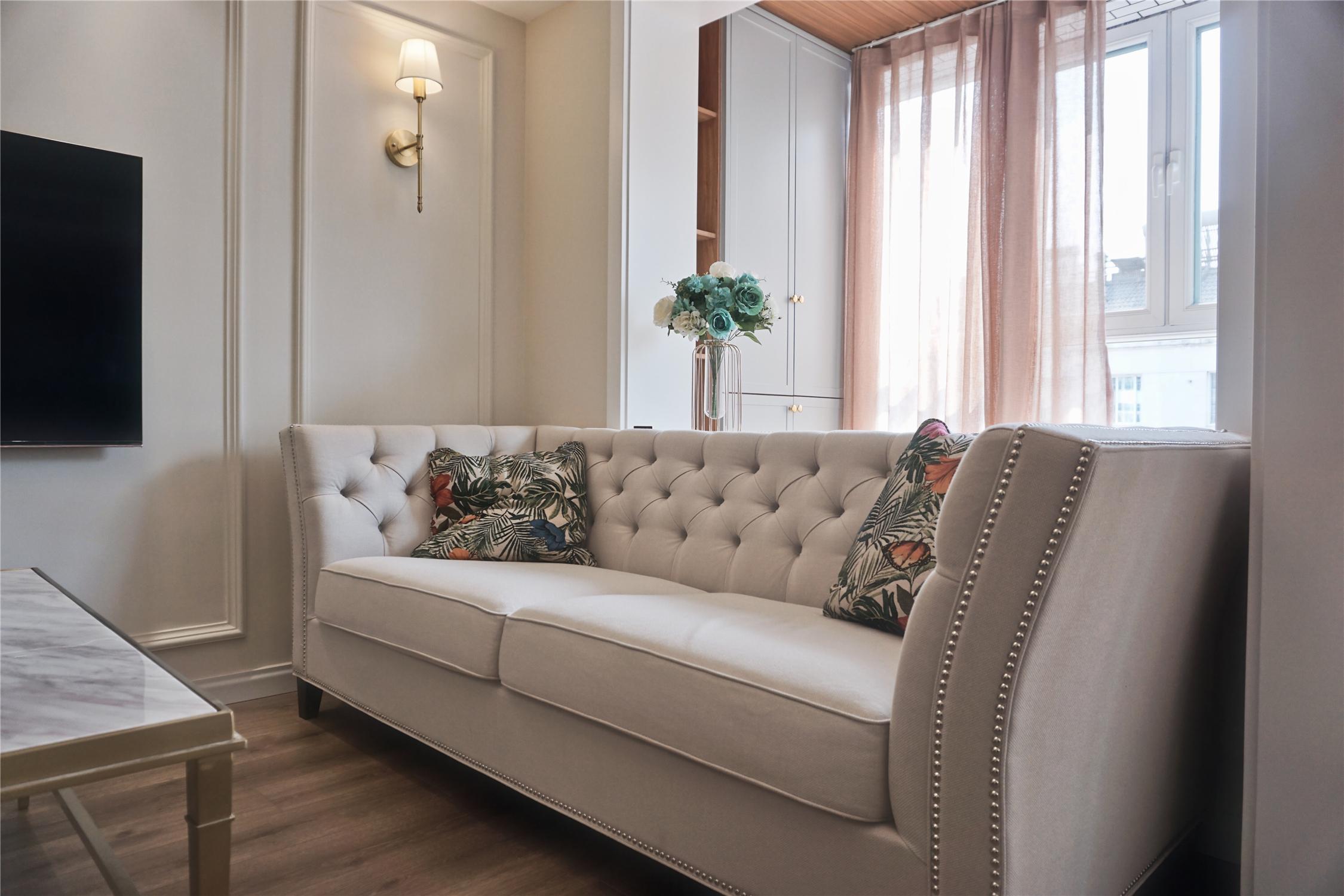 简美风格装修沙发设计图