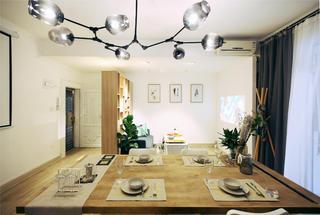 小户型两居室装修餐厅吊灯设计