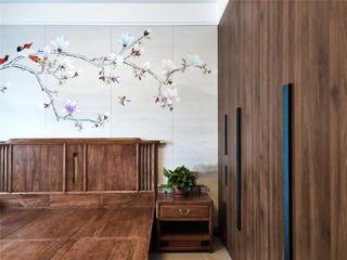 130㎡新中式臥室裝修效果圖