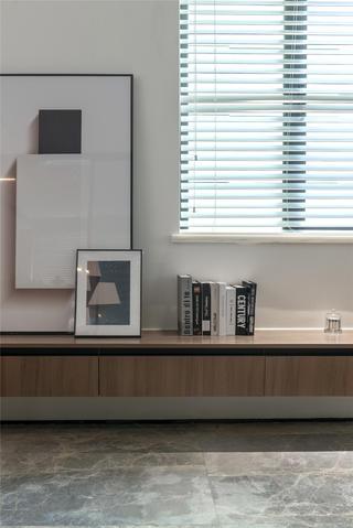 现代简约风两居装修悬空柜设计