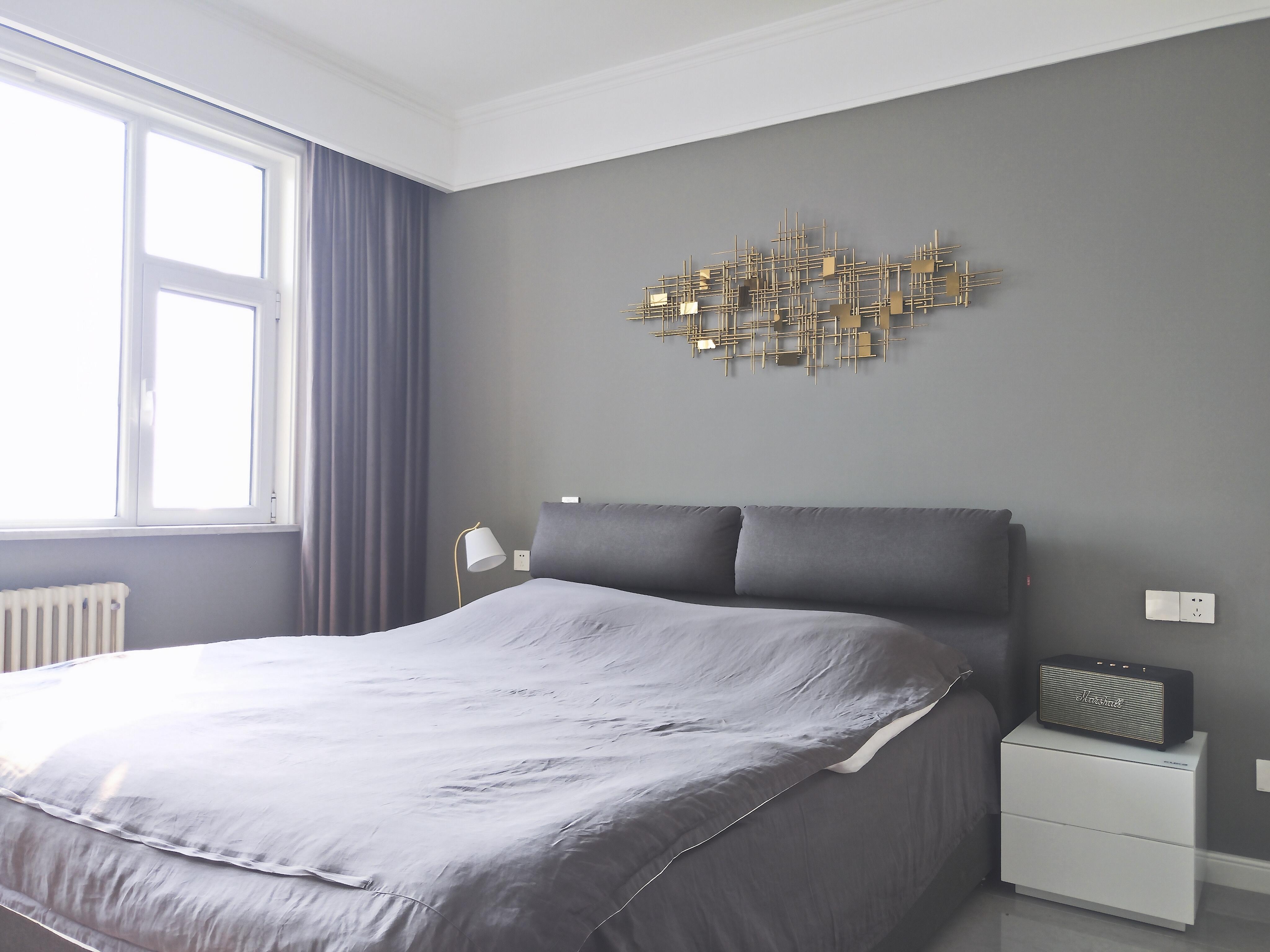 160平简约美式风卧室装修效果图