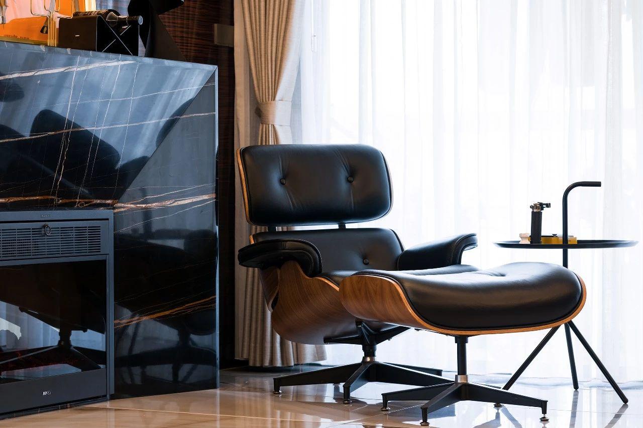 大户型现代奢华风装修躺椅设计