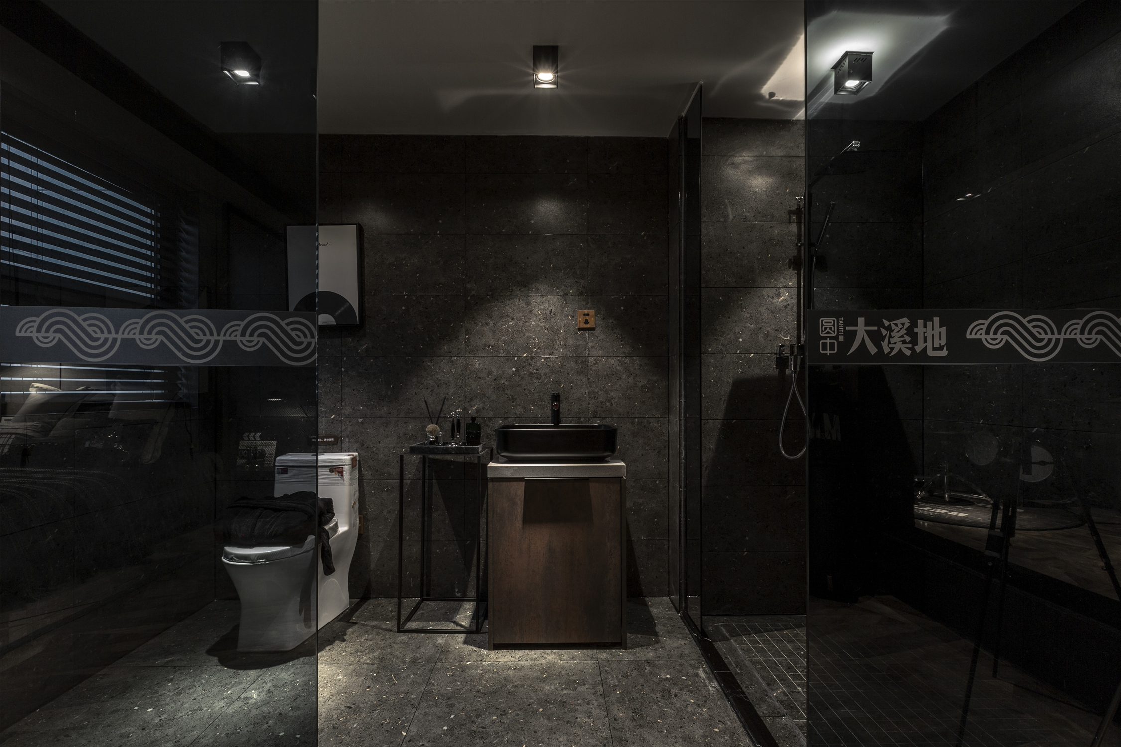 LOFT一居室卫生间装修效果图
