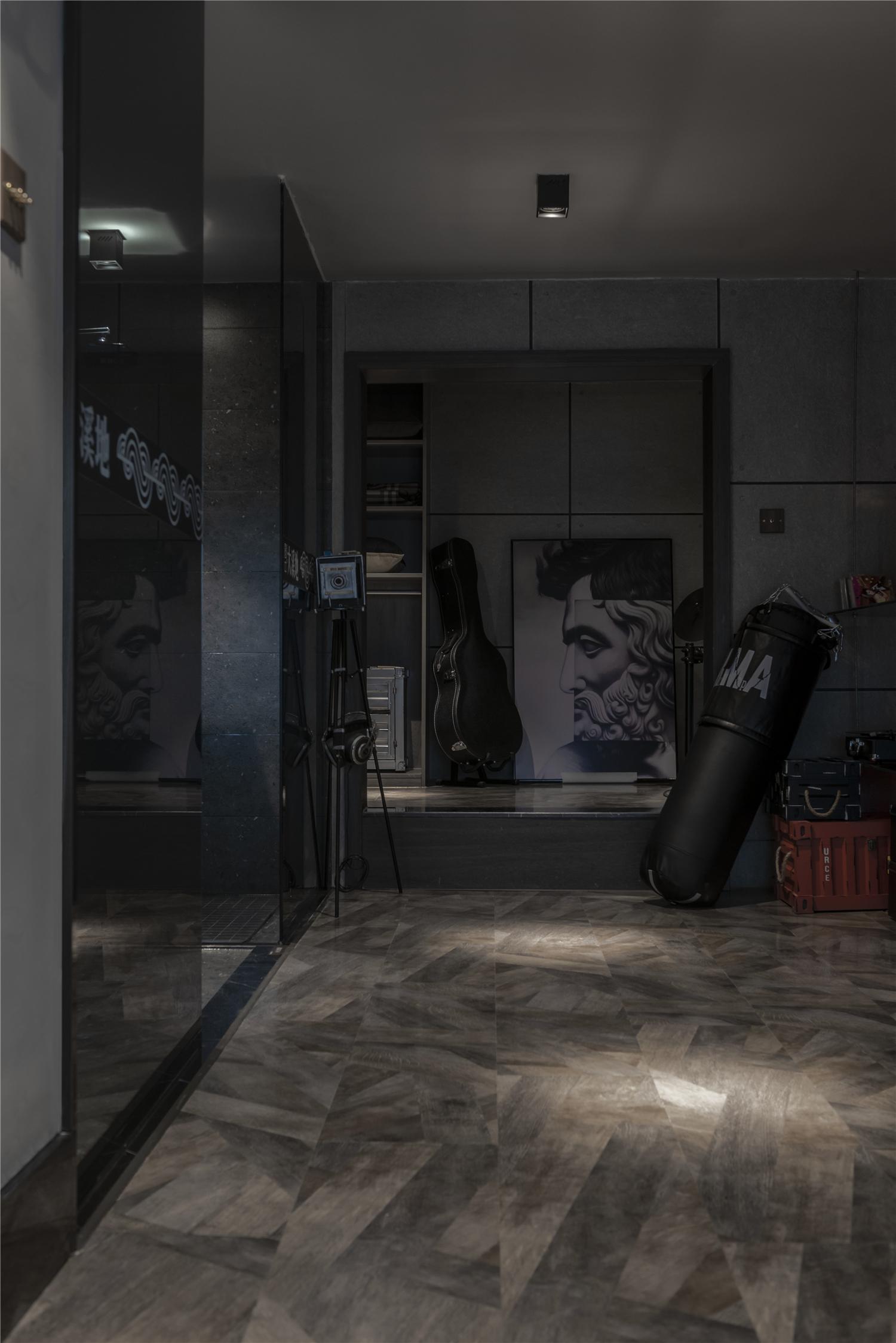 LOFT一居室装修走廊设计