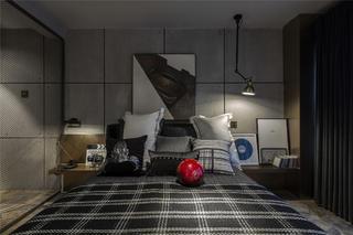 LOFT一居室装修卧室效果图