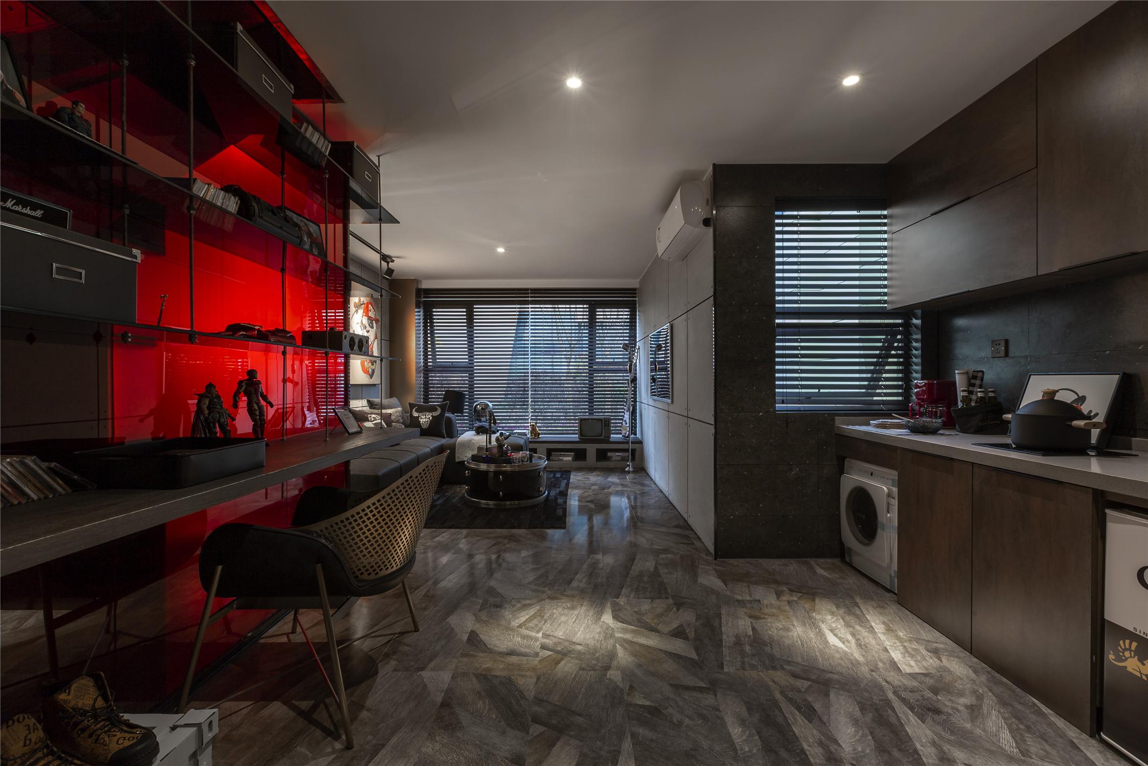 LOFT一居室厨房装修效果图