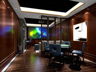 新中式别墅娱乐室装修效果图