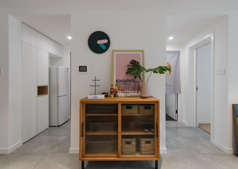 65平米一居室装修收纳柜设计