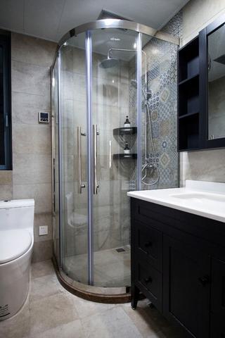 105平新中式风格装修卫生间效果图