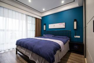 105平新中式风格卧室装修效果图