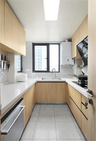 140平日式风格厨房装修效果图