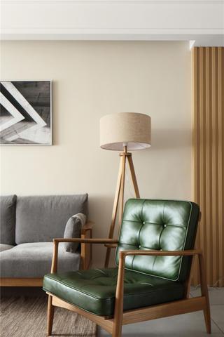 140平日式风格装修客厅一角