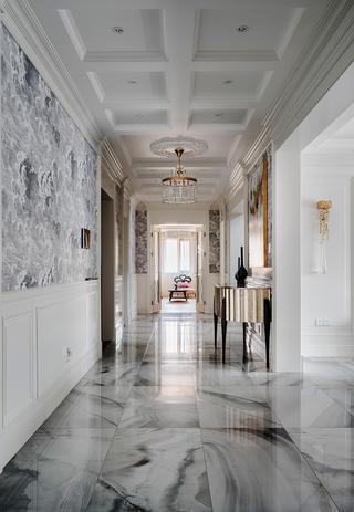 新古典风格别墅走廊装修效果图