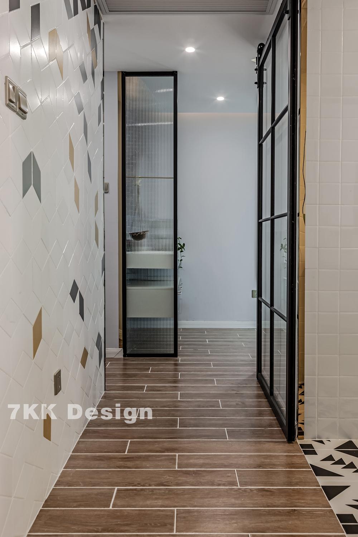 门北欧风格二居室过道装修效果图