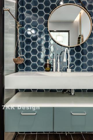 北欧风格二居室装修洗手台设计图