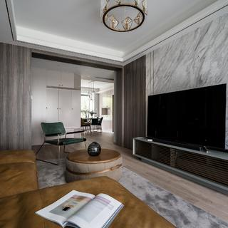 110平米二居室装修效果图