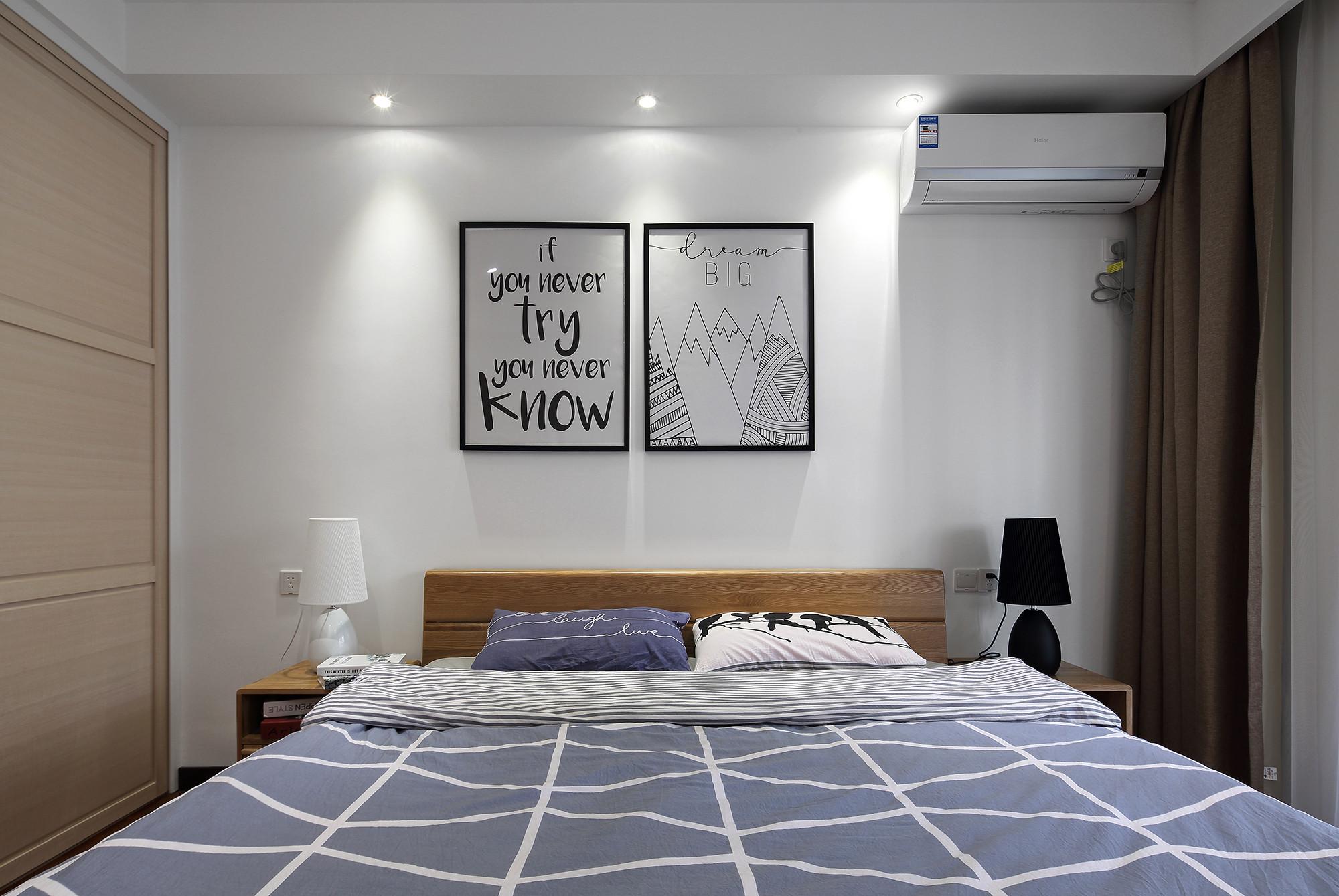 120㎡混搭风格卧室装修效果图