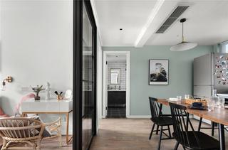 北欧风两居室餐厅装修效果图