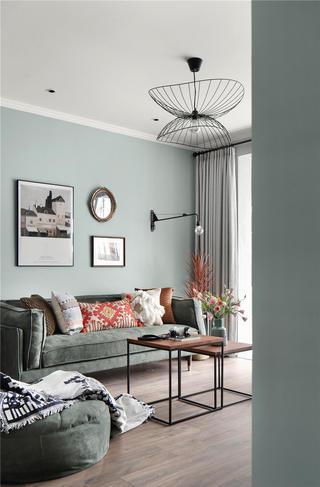 北欧风两居室装修沙发设计