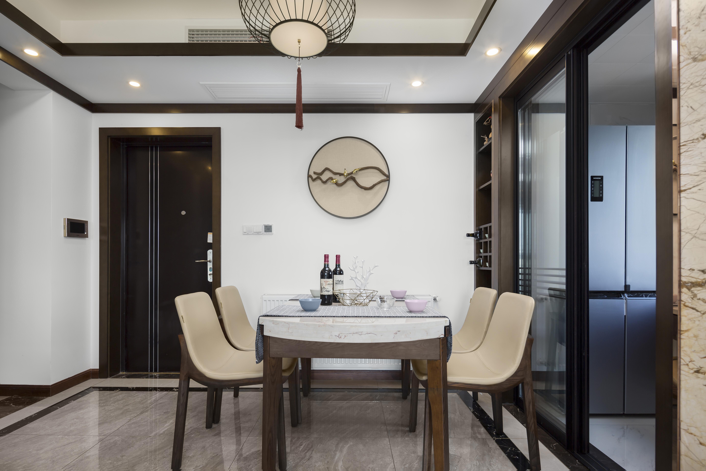 90㎡新中式餐厅装修效果图