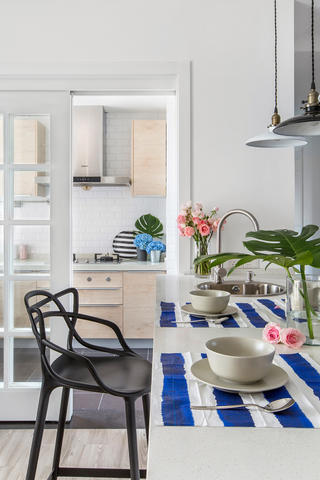 120平北欧风格厨房每日首存送20