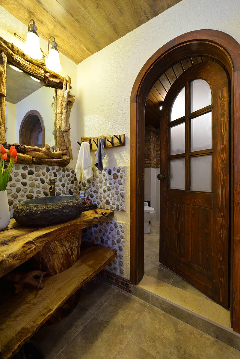 美式乡村两居室卫生间装修效果图