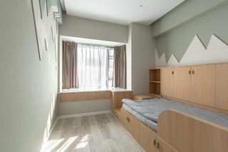 108㎡北欧风两居儿童房装修效果图