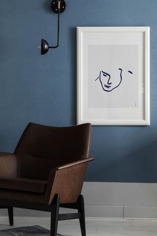 复式混搭风装修休闲椅设计