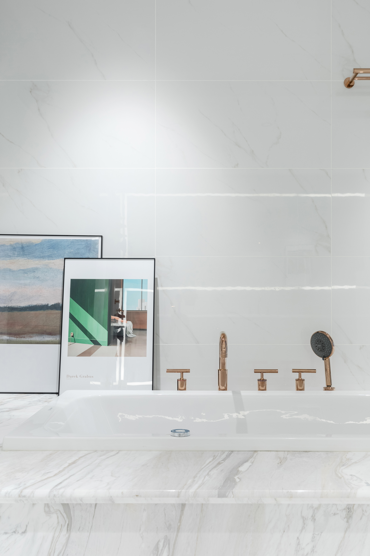 复式混搭风装修浴缸设计