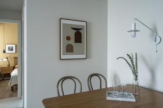 69平米二居室餐厅装修效果图