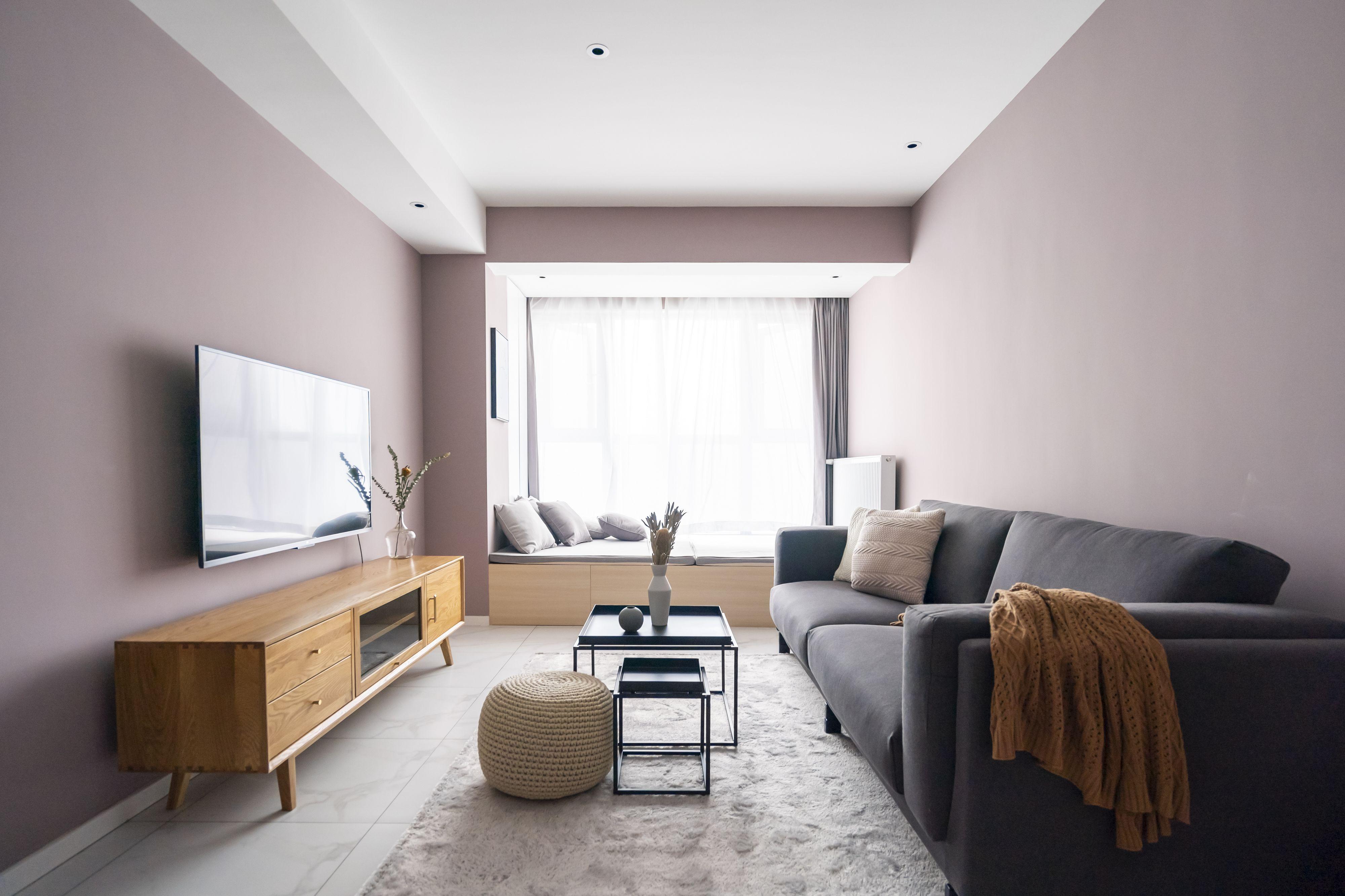 69平米二居室客厅装修效果图