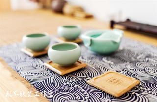 日式风格三居室装修茶具小景