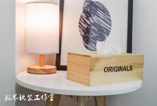 日式风格三居室装修台灯设计
