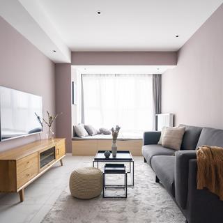 69平米二居室装修效果图