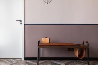 145平现代风装修换鞋凳设计