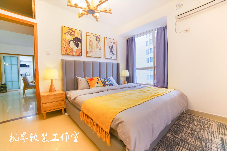 日式风三居卧室装修效果图